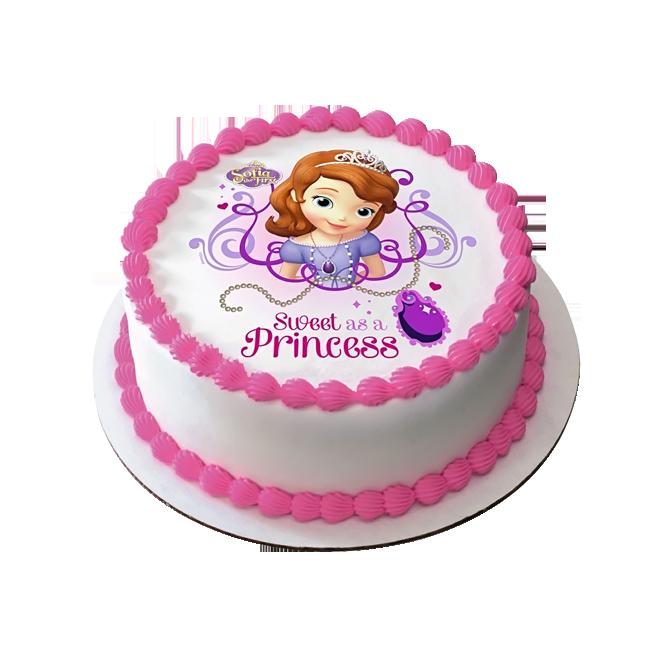Princess Sofia Cake Design