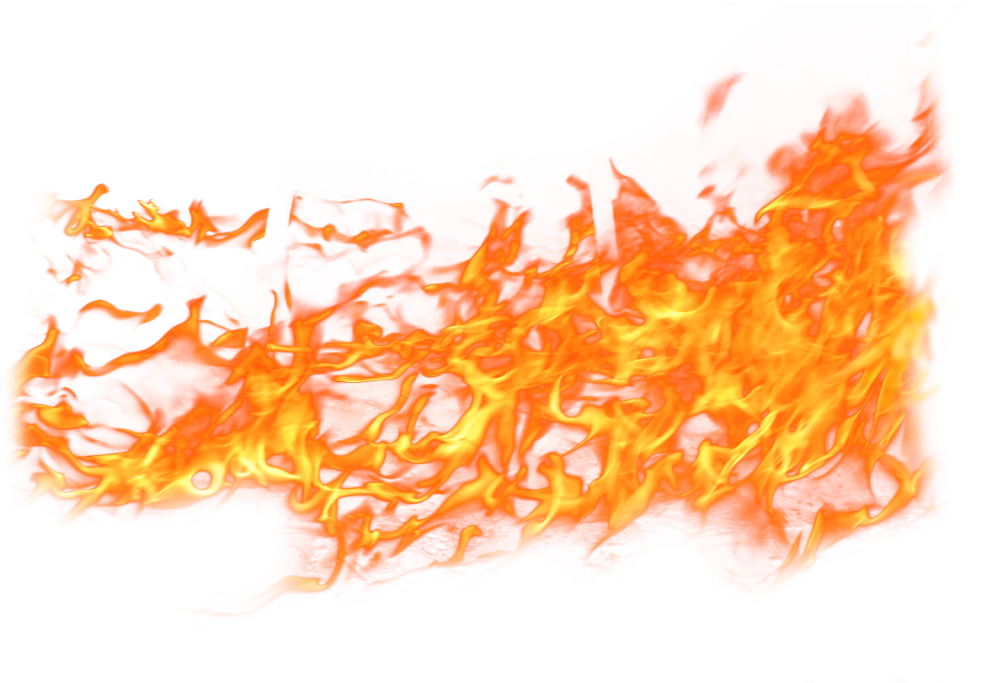 Fire Png Transparent two