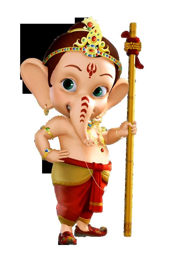 Bal Ganesha Png Clipart Image Transparent