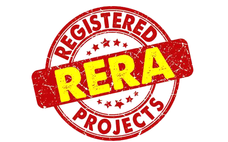 rera logo png with transparent background