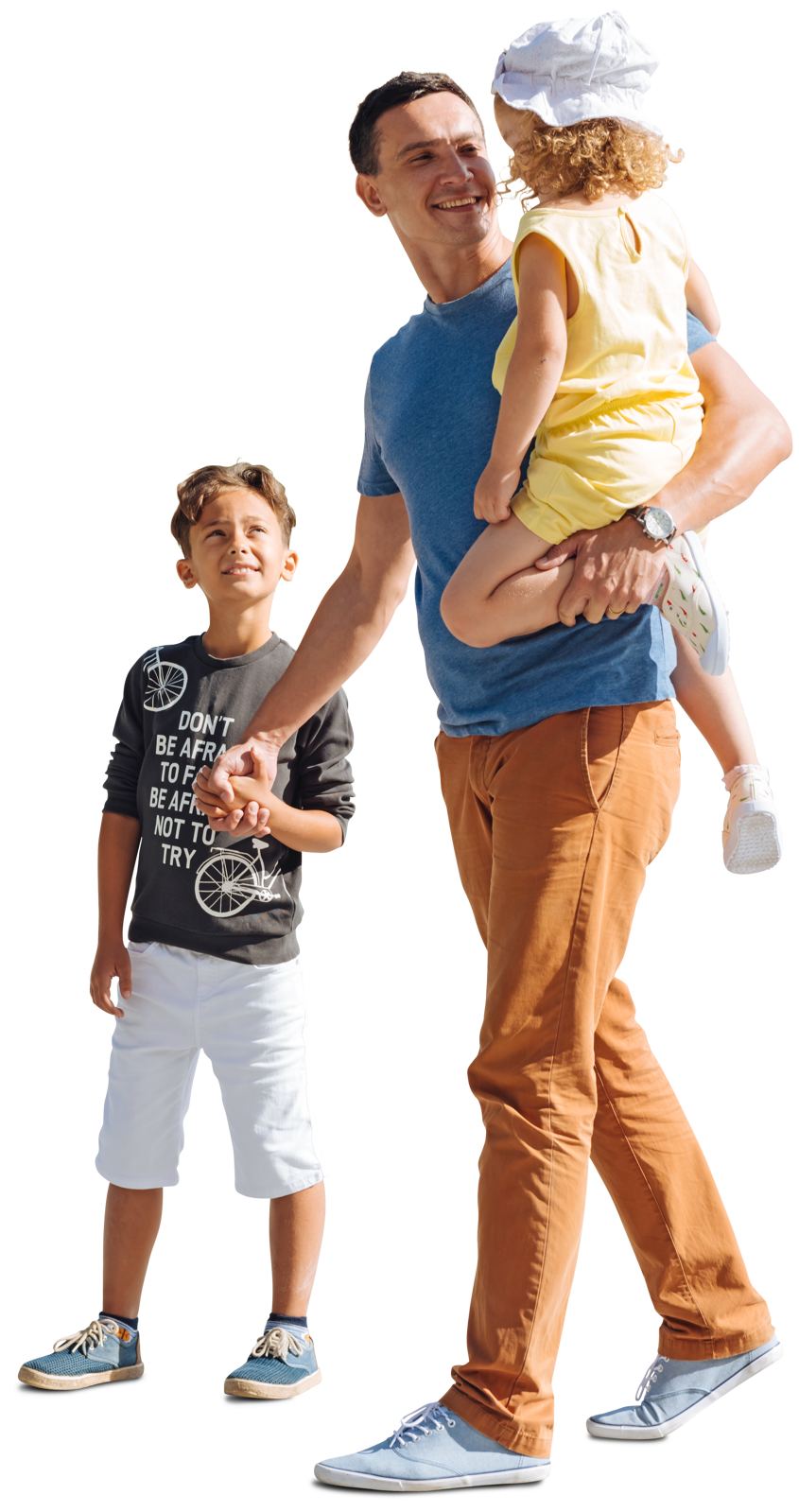 Family WALKING PNG Images Free Download